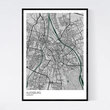 Load image into Gallery viewer, Augsburg City Map Print