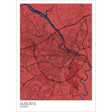 Load image into Gallery viewer, Map of Augusta, Georgia