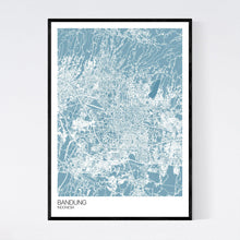 Load image into Gallery viewer, Bandung City Map Print