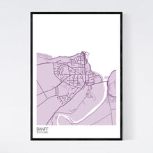 Load image into Gallery viewer, Banff Town Map Print
