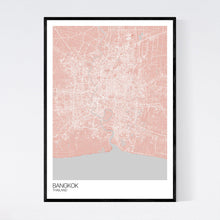 Load image into Gallery viewer, Map of Bangkok, Thailand