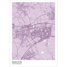 Load image into Gallery viewer, Map of Basildon, United Kingdom