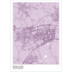 Map of Basildon, United Kingdom