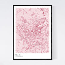 Load image into Gallery viewer, Bath City Map Print