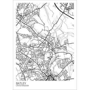 Map of Batley, United Kingdom