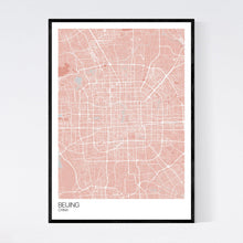 Load image into Gallery viewer, Map of Beijing, China