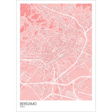 Load image into Gallery viewer, Map of Bergamo, Italy