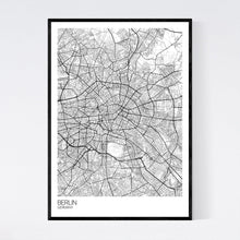 Load image into Gallery viewer, Berlin City Map Print