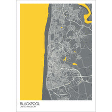 Load image into Gallery viewer, Map of Blackpool, United Kingdom