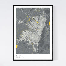 Load image into Gallery viewer, Map of Bogotá, Colombia