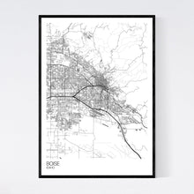 Load image into Gallery viewer, Boise City Map Print