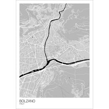 Load image into Gallery viewer, Bolzano City Map Print