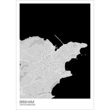 Load image into Gallery viewer, Map of Brixham, United Kingdom