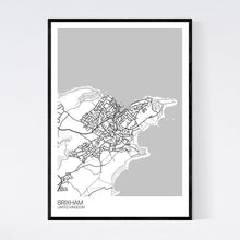 Load image into Gallery viewer, Brixham Town Map Print