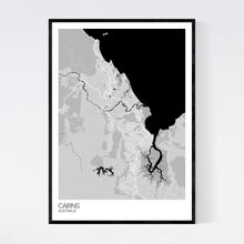 Load image into Gallery viewer, Map of Cairns, Australia