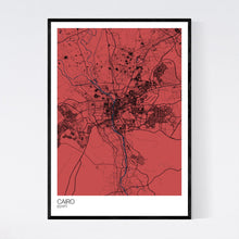 Load image into Gallery viewer, Cairo City Map Print
