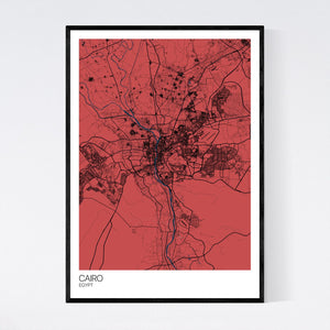 Cairo City Map Print