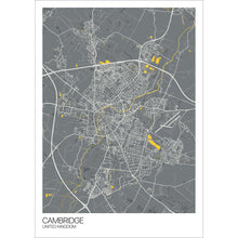 Load image into Gallery viewer, Map of Cambridge, United Kingdom