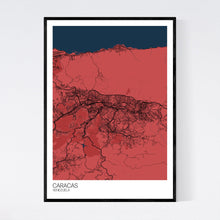Load image into Gallery viewer, Caracas City Map Print
