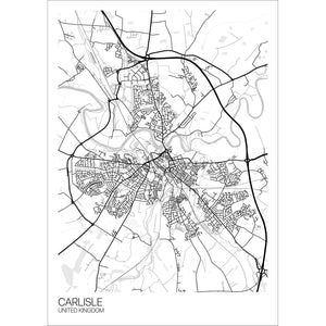 Map of Carlisle, United Kingdom