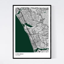 Load image into Gallery viewer, Carlsbad City Map Print