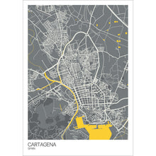 Load image into Gallery viewer, Map of Cartagena, Spain