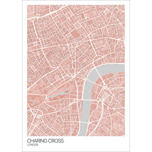 Load image into Gallery viewer, Map of Charing Cross, London