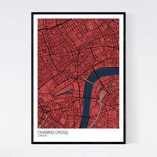 Load image into Gallery viewer, Charing Cross Neighbourhood Map Print