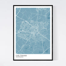 Load image into Gallery viewer, Cheltenham City Map Print