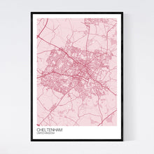 Load image into Gallery viewer, Map of Cheltenham, United Kingdom