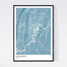 Load image into Gallery viewer, Map of Chongqing, China