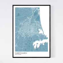 Load image into Gallery viewer, Map of Christchurch, New Zealand