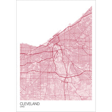 Load image into Gallery viewer, Map of Cleveland, Ohio