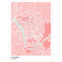 Load image into Gallery viewer, Coimbra City Map Print