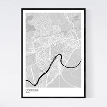 Load image into Gallery viewer, Map of Córdoba, Spain