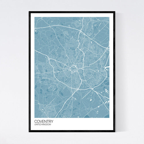 Map of Coventry, United Kingdom