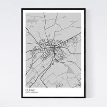 Load image into Gallery viewer, Cupar City Map Print