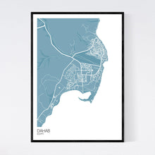 Load image into Gallery viewer, Dahab City Map Print