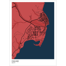 Load image into Gallery viewer, Map of Dahab, Egypt