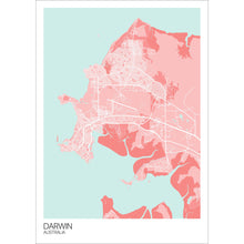 Load image into Gallery viewer, Map of Darwin, Australia
