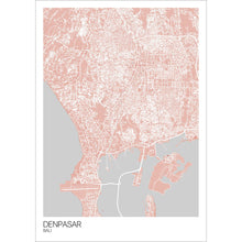 Load image into Gallery viewer, Map of Denpasar, Bali