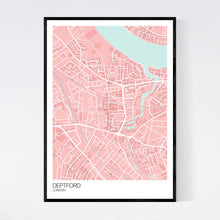 Load image into Gallery viewer, Deptford Neighbourhood Map Print