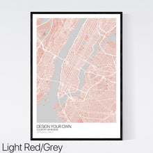 Load image into Gallery viewer, Design Your Own Map Print (UK and Ireland)