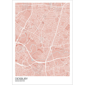 Map of Didsbury, Manchester