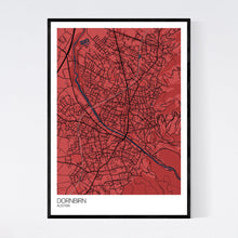 Load image into Gallery viewer, Dornbirn City Map Print