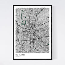 Load image into Gallery viewer, Dortmund City Map Print