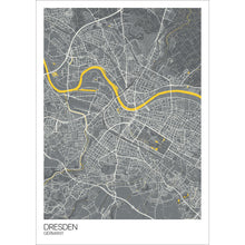 Load image into Gallery viewer, Map of Dresden, Germany