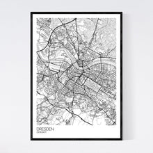 Load image into Gallery viewer, Dresden City Map Print
