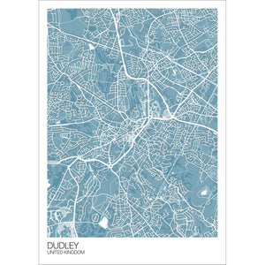 Map of Dudley, United Kingdom