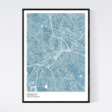 Load image into Gallery viewer, Map of Dudley, United Kingdom